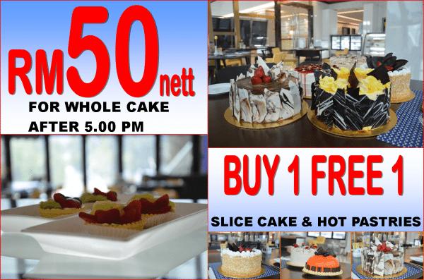 Cake Promotion