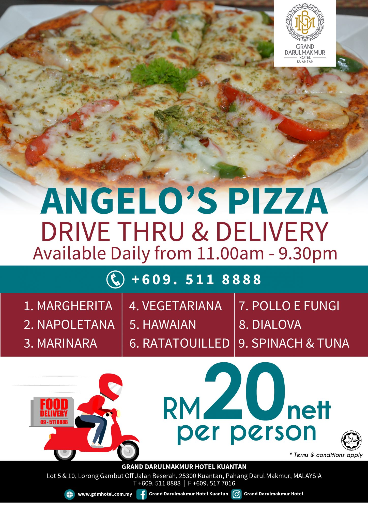 Angelo's Promotion