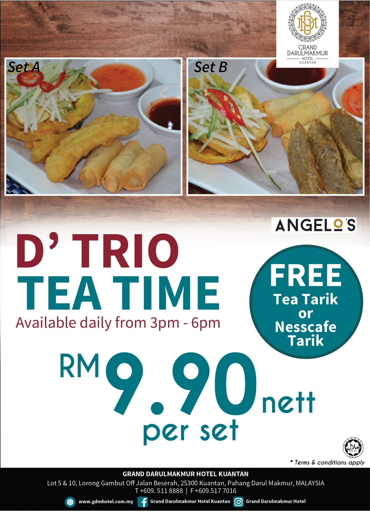 D' Trio Tea Time