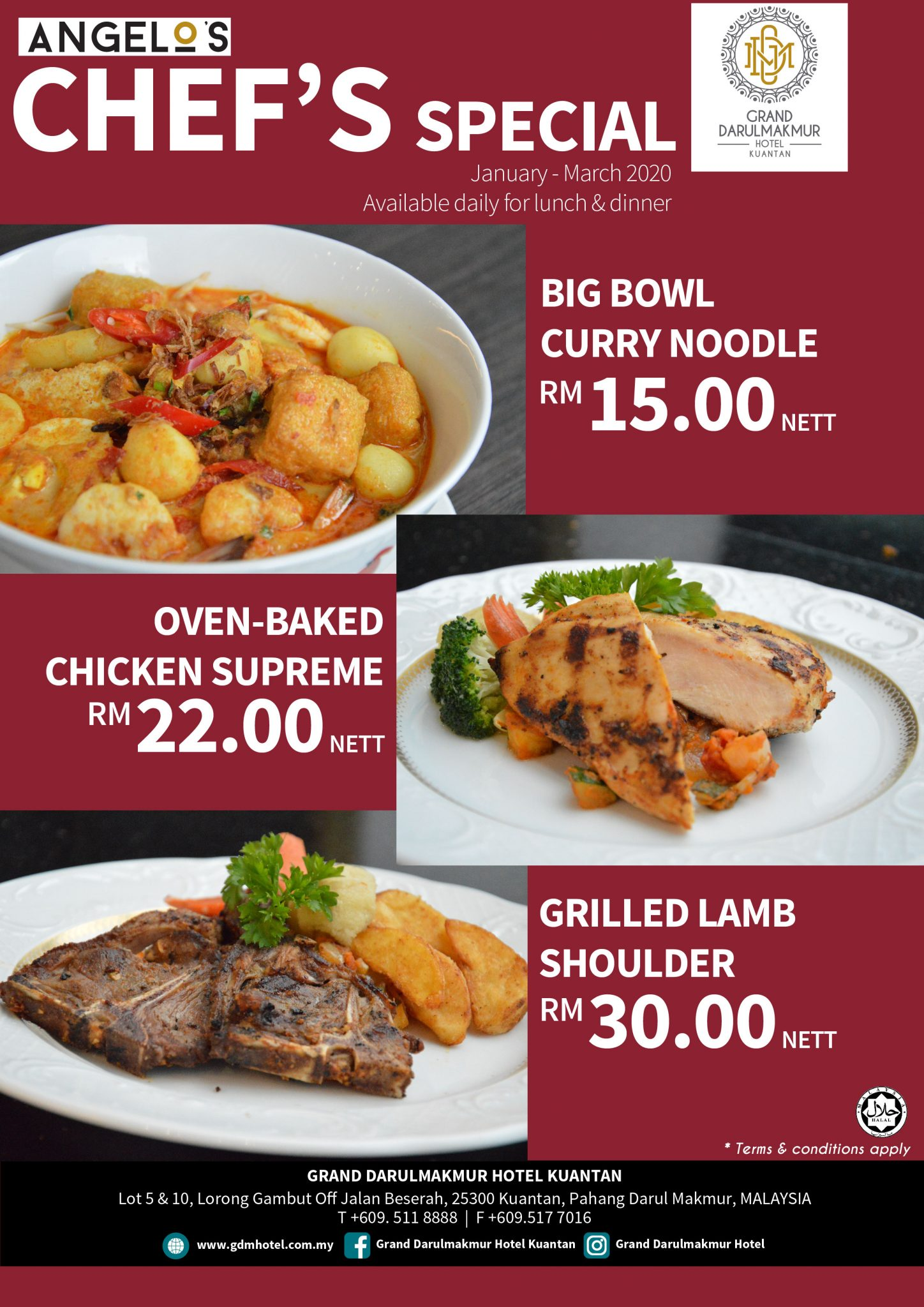 Angelo's Chef's Special