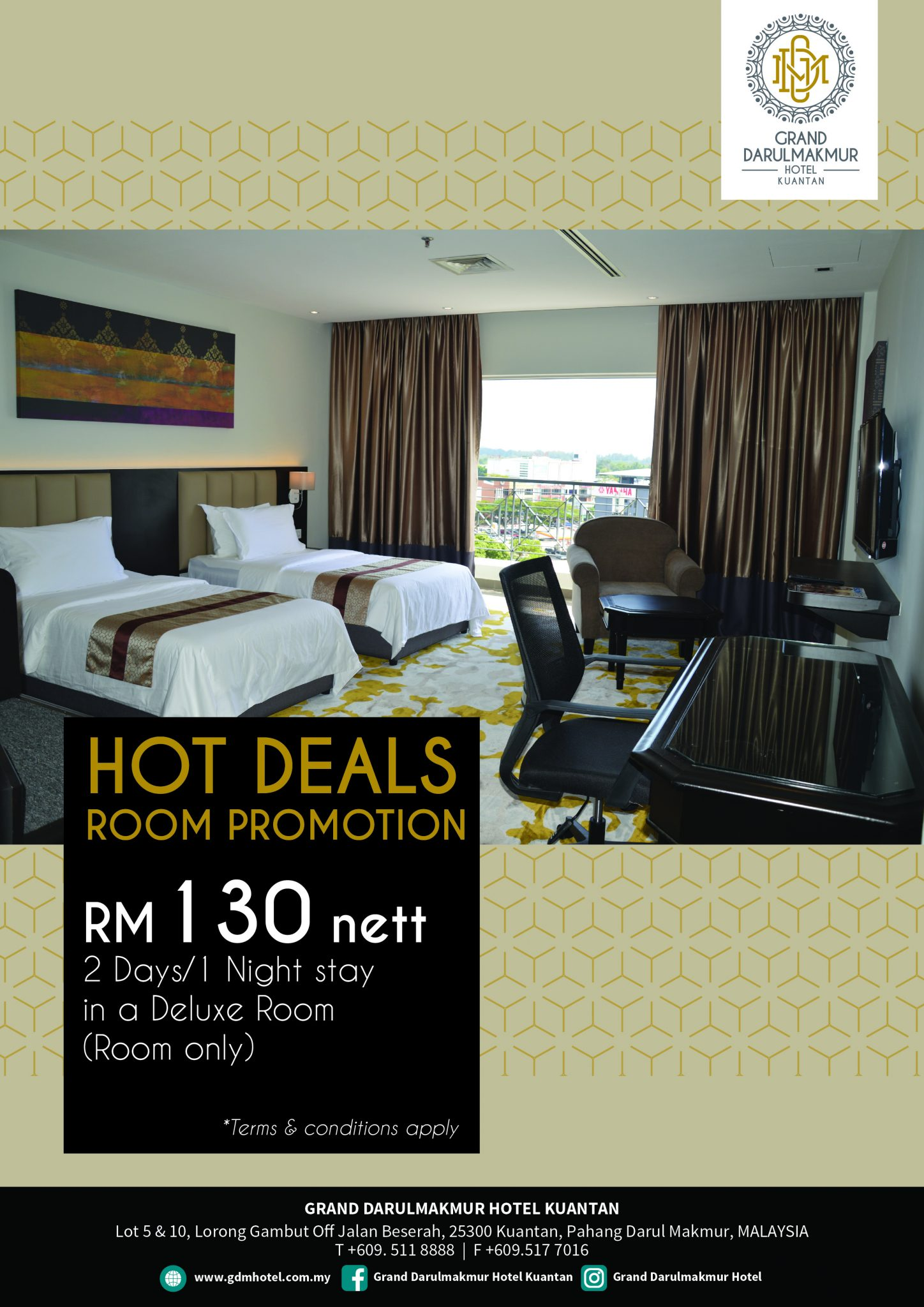 Hot Deals Room Promotion