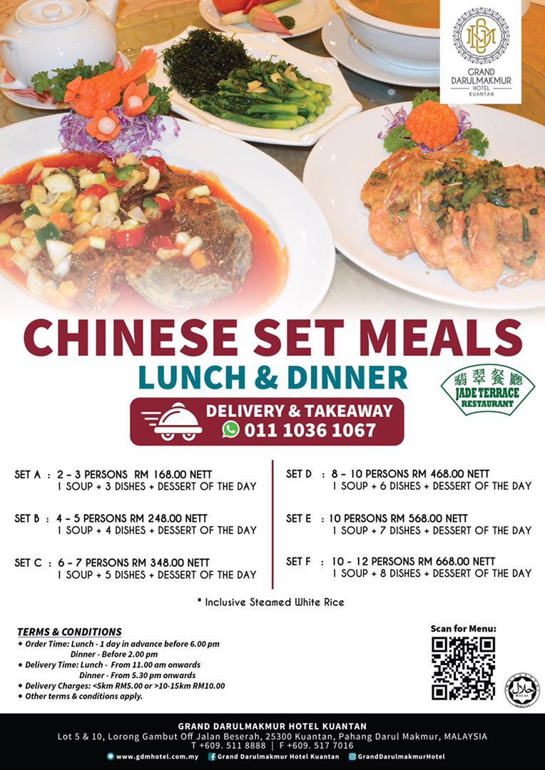 Chinese Set Meals & Dim Sum Set